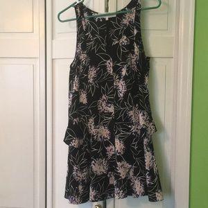 Thakoon floral print layered dress